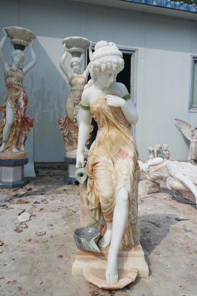 AFD Home Marble Lady Fountain 18325 12013571