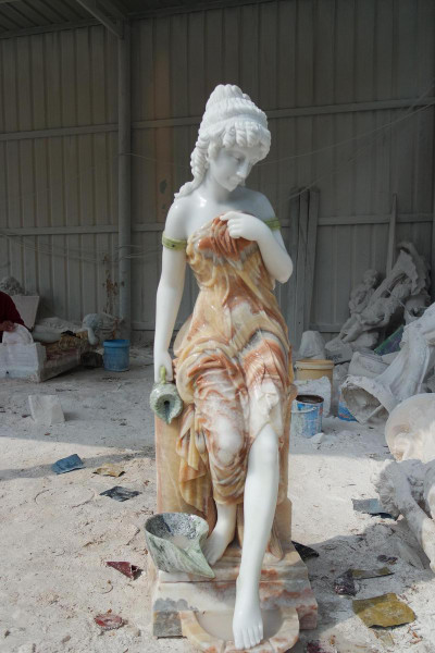 AFD Home Marble Lady Fountain 18326 12013572