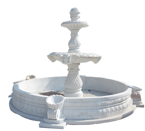 AFD Home Beijing White Marble Fountain Ge19436 12018792