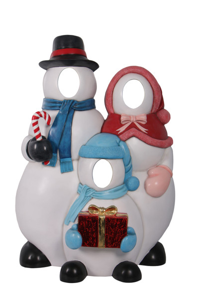 AFD Home Snowman Family Photo Op 12019295