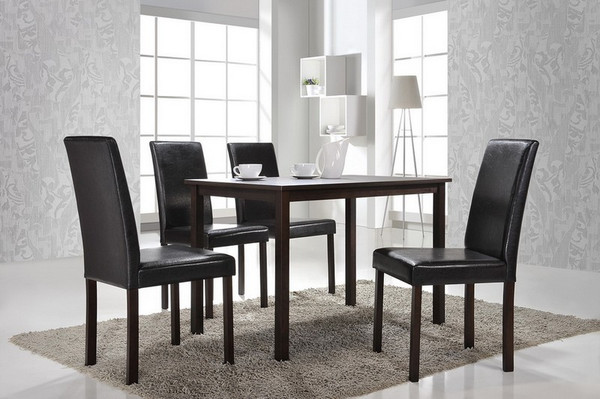 Baxton Studio Andrew Dining Chair - (Set of 2) Andrew Dining Chair