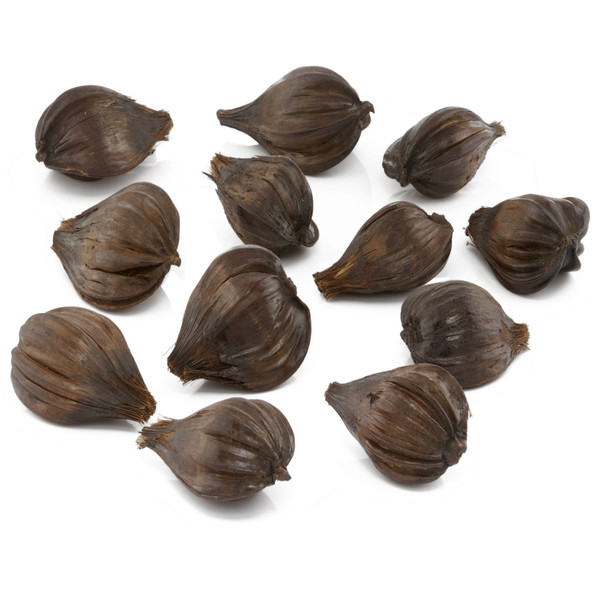 """5"""" X 5"""" X 2.5"""" Brown Nipa - Pods Pack Of 12 354644 By Homeroots"""