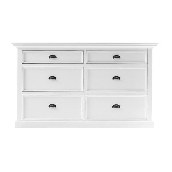 Modern Farmhouse White Six Drawer Dresser 387806 By Homeroots