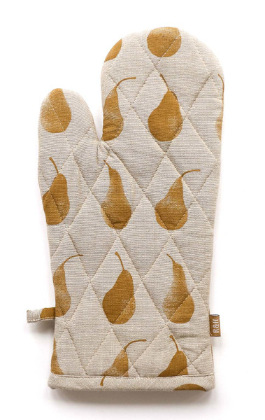 Set Of Two Yellow Tea Towels With Matching Oven Gloves 388976 By Homeroots