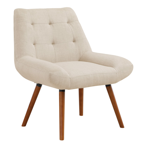 Office Star Calico Accent Chair - Cream CLC-M52