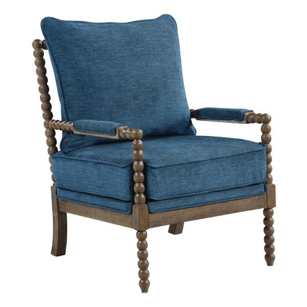 Office Star Fletcher Spindle Chair - Navy FLR-H16