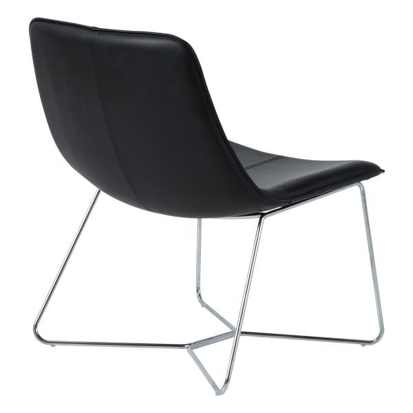 Office Star Grayson Accent Chair - Black GYSC-B18