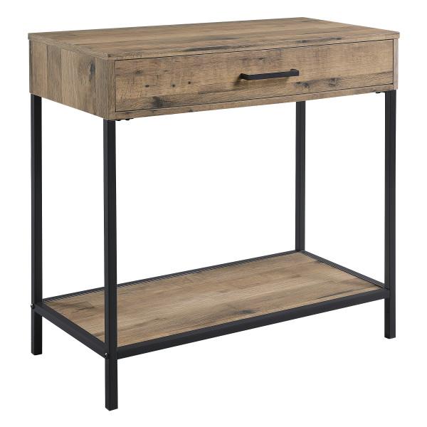 "Office Star Quinton 30"" Foyer Table - Salvage Oak QTN507-SLV"