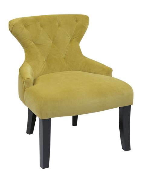 Office Star Curves Hour Glass Accent Chair - Basil CVS26-B39