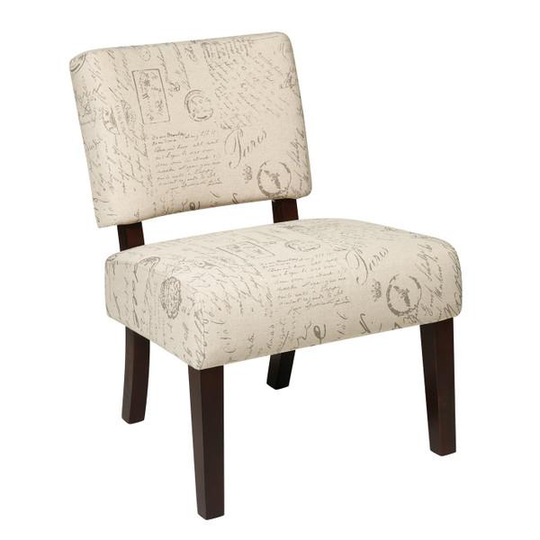 Office Star Jasmine Accent Chair - Script JAS-S13