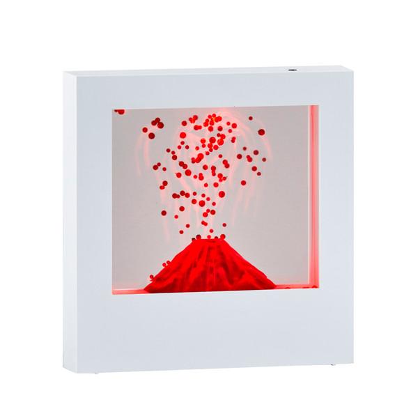 Adesso Volcano Light Box - White SL3983-02