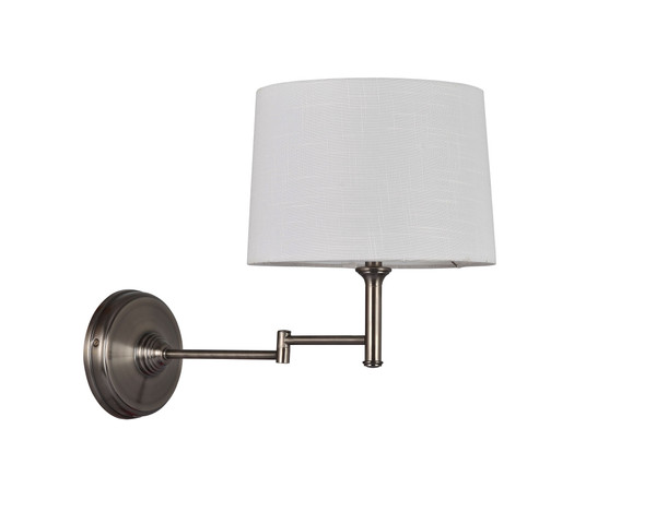 Adesso Antique Pewter Wall Light (Set Of 2) - Antique Pewter SL3741-23