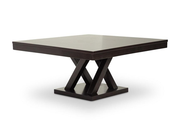 Baxton Studio Everdon Dark Brown Coffee Table SA108-Coffee Table