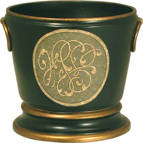 10-2345 Green Container Bowl By Accents Beyond