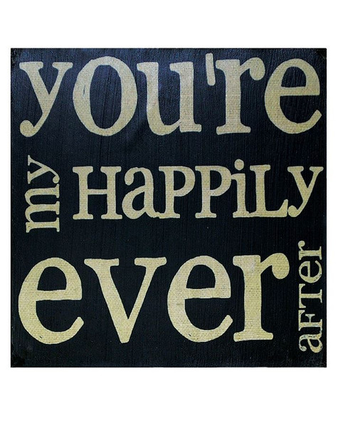 1211-36117 BMW You're My Happily Ever After Wall Box Sign-Pack of 8