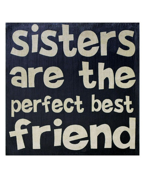 1211-36120 BMW Sisters Are Perfect Best Friend Wall Box Sign-Pack of 8