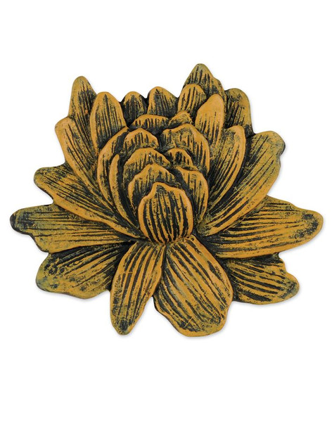 1211-51558 Blossom Bucket Yellow Flower Embellishment - Pack of 17