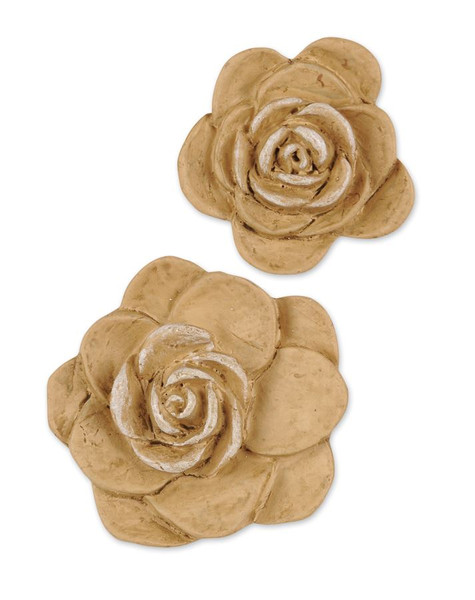1211-51559 Blossom Bucket Set of 2 Rose Embellishments - Pack of 13