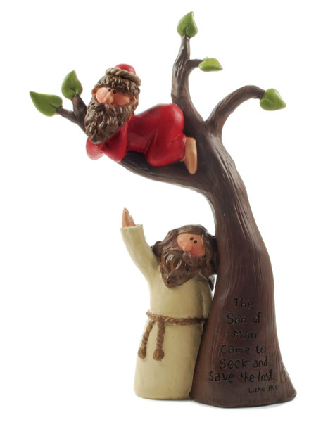 1211-87508 The Son Of Man Came To Seek Jesus With Tree - Pack of 6