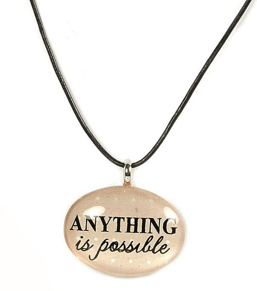 124-51829 Anything Is Possible Oval Necklace - Pack of 11