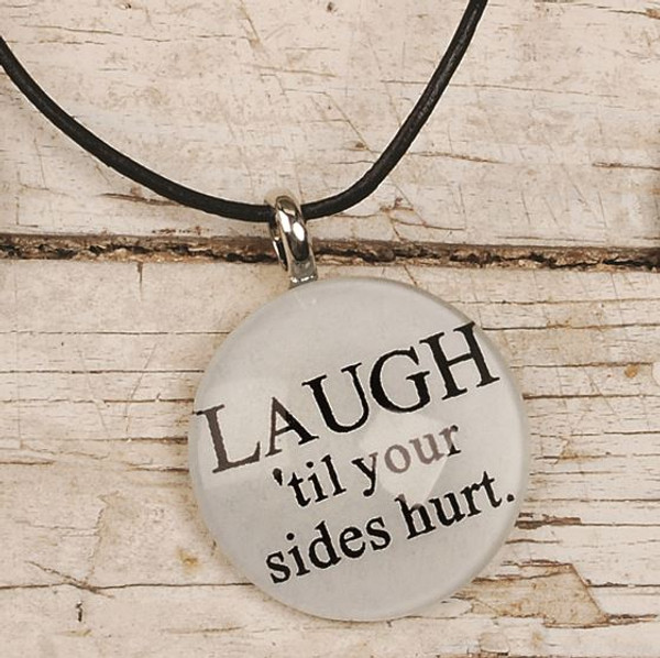 124-51837 Laugh Till Your Sides Hurt Round Necklace - Pack of 11
