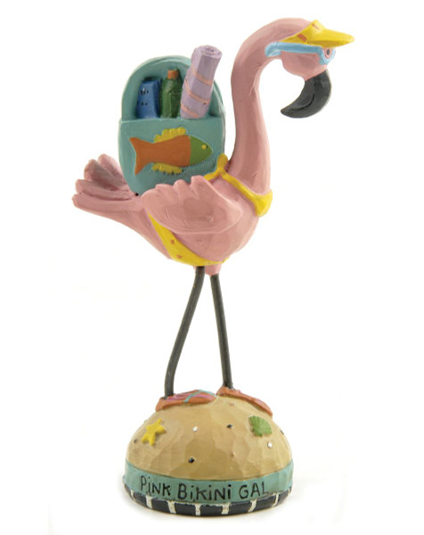 124-85086 Blossom Bucket Pink Bikini Gal Flamingo - Pack of 7