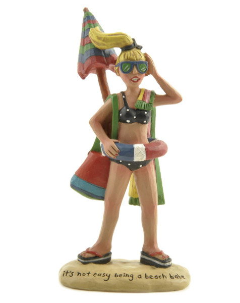 125-86285 Blossom Bucket Beach Babe With Beach Bag - Pack of 7
