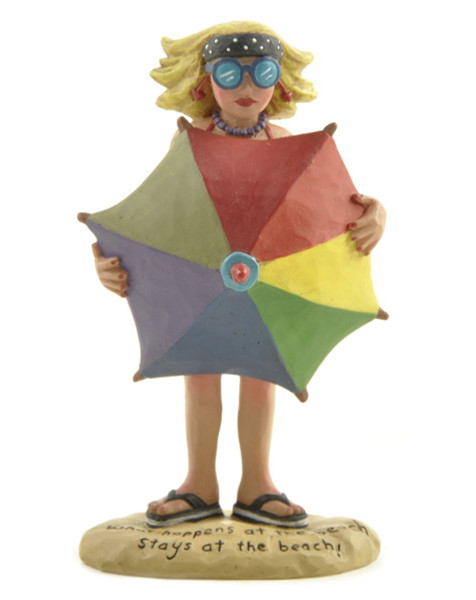 125-86289 Blossom Bucket Beach Babe With Umbrella - Pack of 7