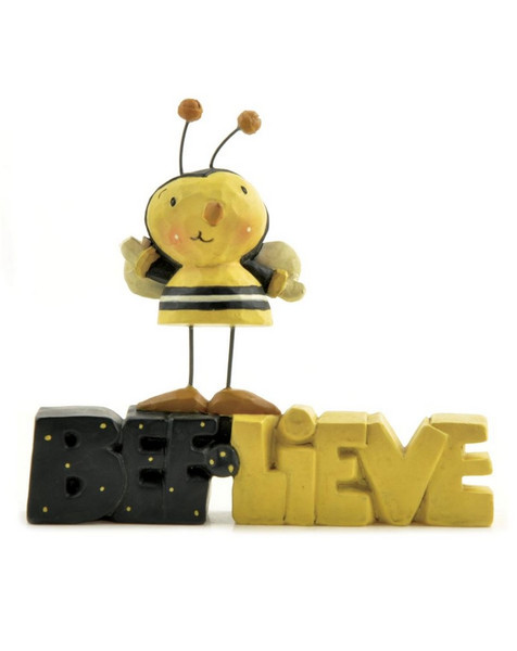 125-86298 Blossom Bucket Bee-lieve Statue - Pack of 7