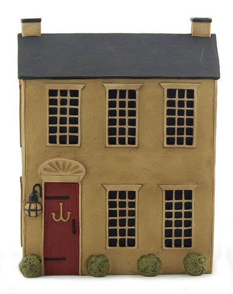 125-86849 Blossom Bucket House With Red Door - Pack of 4