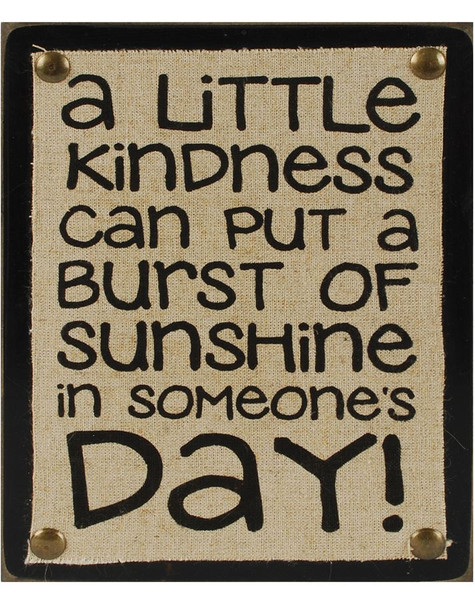 1311-37170 Blossom Bucket Little Kindness Wall Box Sign - Pack of 5