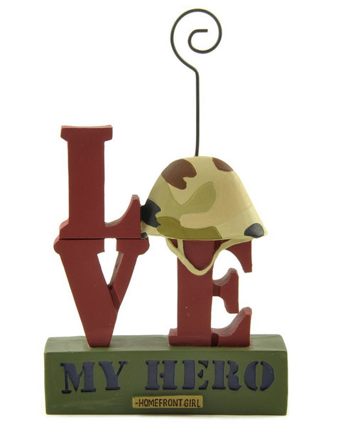 1311-88839 Blossom Bucket Love My Hero Picture Holder - Pack of 6