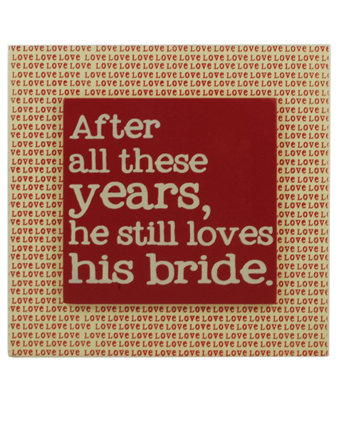 1312-37068 Still Love Shis Bride Wall Box Sign - Pack of 5