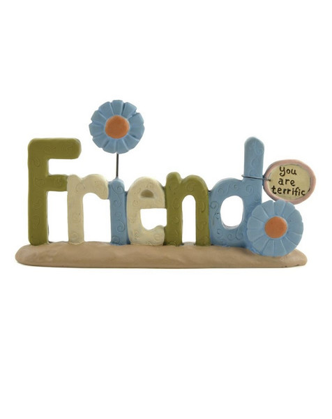 133-84842 Blossom Bucket Friend On Base With Flowers - Pack of 6