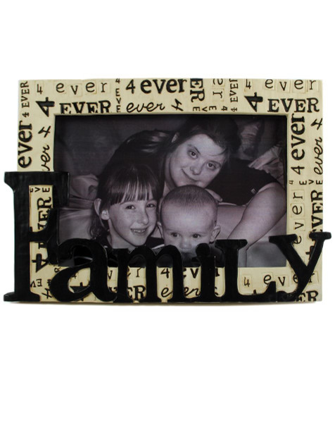 134-88265 Blossom Bucket Family 4Ever Frame (4X6) - Pack of 4