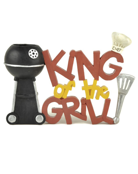135-88042 King Of The Grill With Grill Toothpick Holder - Pack of 4