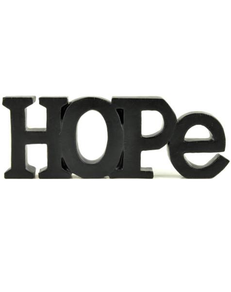 """135-88303 Blossom Bucket """"Hope"""" Letter Block - Pack of 5"""