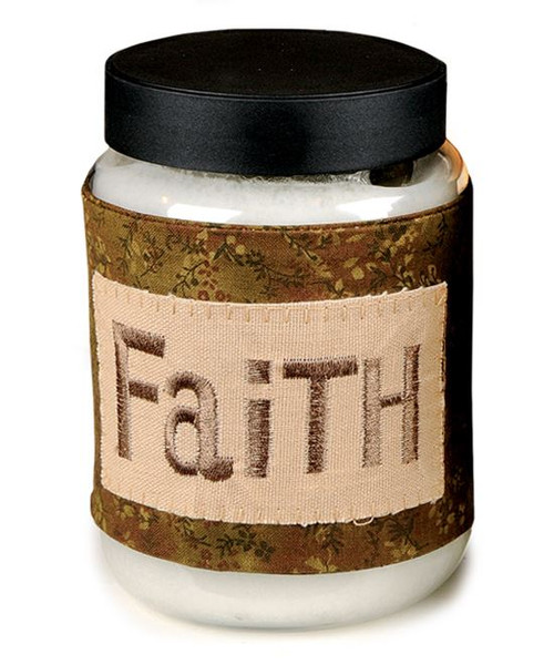 1366-43868 Blossom Bucket Faith Candle Cover - Pack of 8