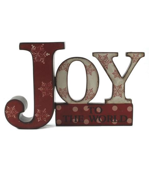 138-70441 Blossom Bucket Red / White Joy On Base - Pack of 9