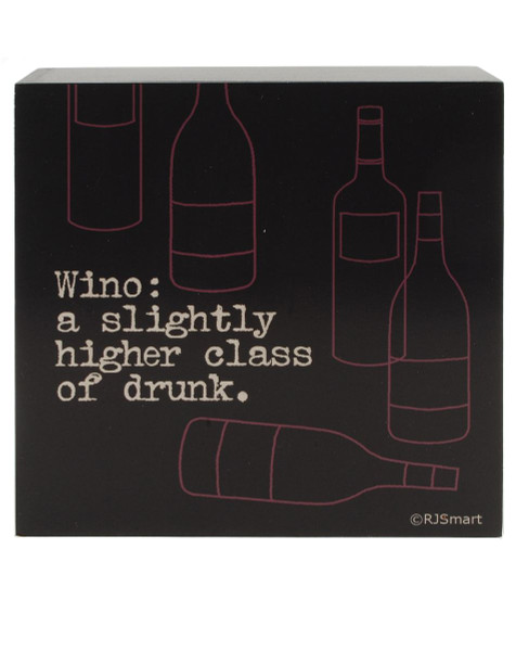 1411-39347 Blossom Bucket Wino Wall Box Sign - Pack of 5