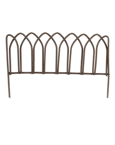 143-70667 Blossom Bucket Small Metal Fence - Pack of 26