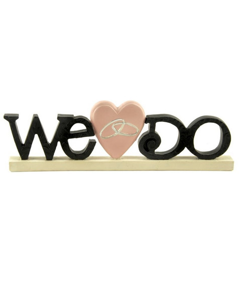 143-88588 Blossom Bucket We Do Sign With Heart / Ring - Pack of 5