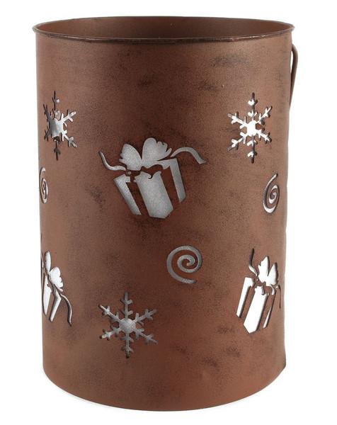 148-71355 Blossom Bucket Presents Lighted Lantern - Pack of 2