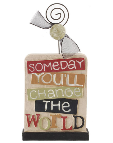 1488-89149 Change The World Picture Holder - Pack of 7