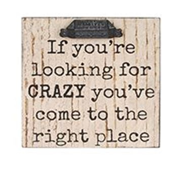 1511-37376 Blossom Bucket Crazy Wall Box Sign (8X8) - Pack of 4