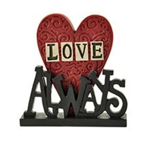 1512-10407 Blossom Bucket Love Always On Base - Pack of 6