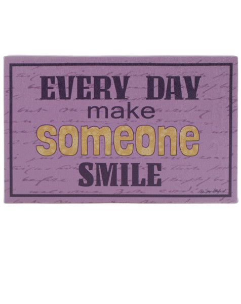 151-39151 Make Someone Smile Wall Box Sign - Pack of 7
