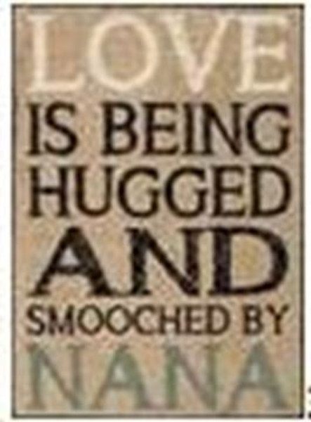154-37301 Blossom Bucket Being Hugged Wall Box Sign - Pack of 6