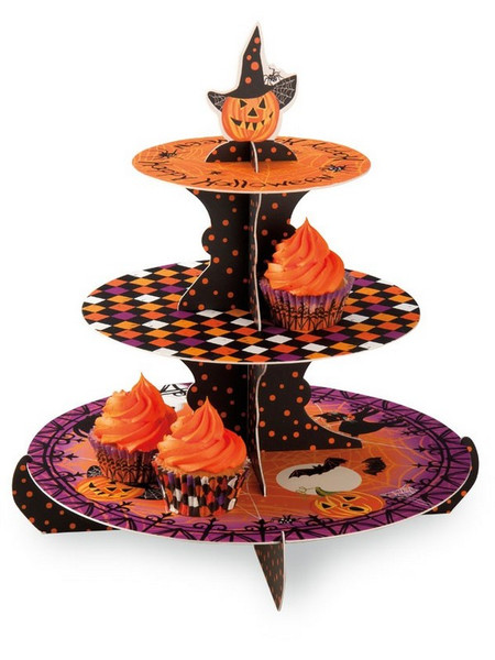 Boston International Haunted Halloween Cupcake Stand (Set of 6) CCS1305