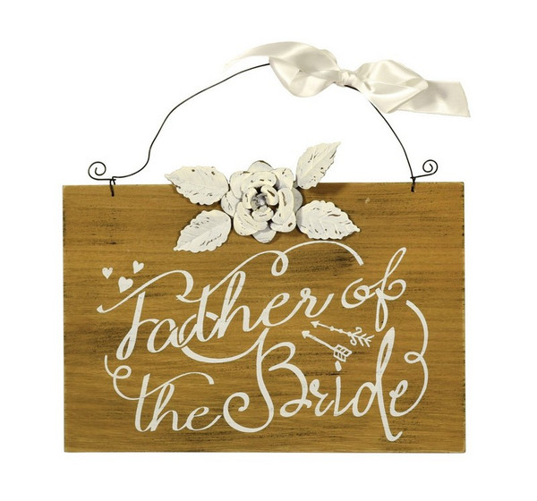 Boston International Father of the Bride Sign (Set of 4) SGC16176